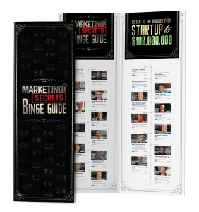 marketing secrets binge guide