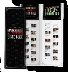 marketing secrets binge guide