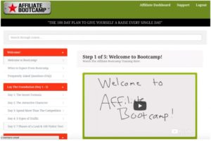 100 day affiliate bootcamp